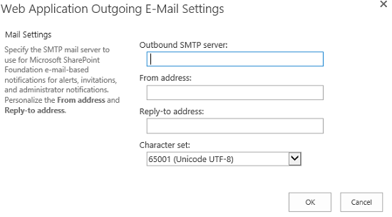 SMTPSettings